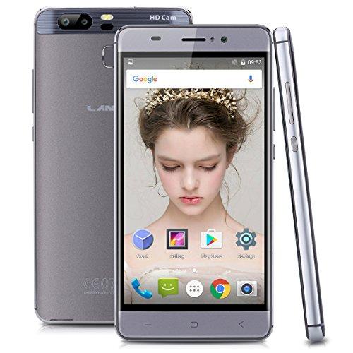 5.0 Zoll Landvo XM300 Pro 4G Smartphone 1.3GHz Quad Core Android 6.0 Handy ohne Vertrag dual SIM dual Kamera 1GB RAM 8GB ROM Smart Wake GPS WIFI Bluetooth