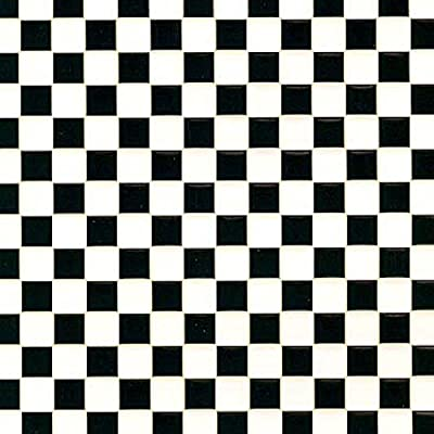 Dollhouse Black and White Flooring: Toys & Games