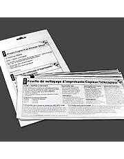 Waffletechnology K2-PCFF5 EZ Printer/Copier/Fax Cleaner Sheet (5 Sheets)