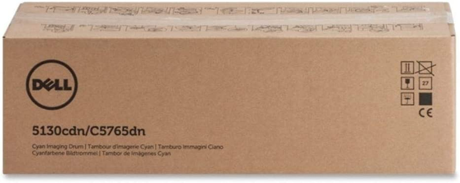 Dell U163N Cyan Imaging Drum Kit 5130cdn/C5765dn Color Laser Printer
