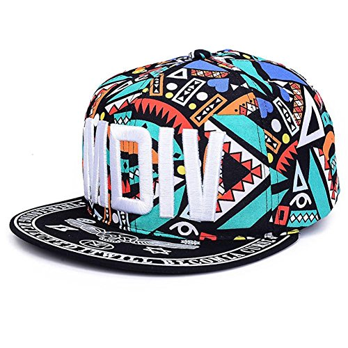 AxiEr Unisex Snapback Hats,Adjustable Printed Hip Hop Baseball Cap for Four Seasons