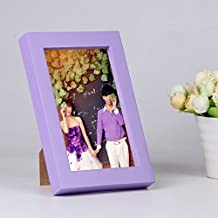 Environmentally friendly solid wood photo frame Creative photo frame Wall mounted picture frame H 10.2x15.3cm(4x6inch)