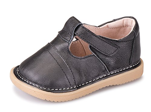 AjayR On Sale Baby Boys Girls Cowhide Toddler Shoes Cute Soft Shoes Mary Jane Flats Leather Shoes