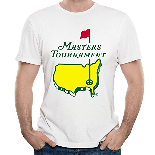 Mens Masters Tournament 2016 Logo The US Masters Professional Golf T-shirts (The Masters Golf Tshirt compare prices)