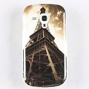 Conseguir La protección del teléfono móvil Torre Eiffel TPU para Samsung Galaxy S3 I8190 Mini