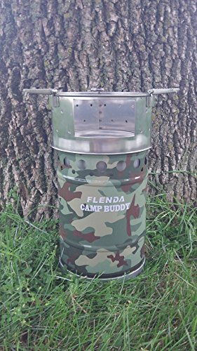Flenda Camp Buddy Natural Draft Firewood Camp Stove
