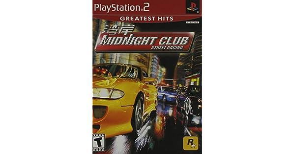 Amazon Com Midnight Club Street Racing Playstation 2