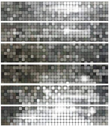 IMIKEYA 3D階段ステッカーモザイクタイルの皮をむき、貼り付ける自己粘着リムーバブルウォールステッカー壁紙用キッチンbacksplash