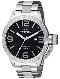 TW Steel Men's CB6 Analog Display Quartz Silver Watch