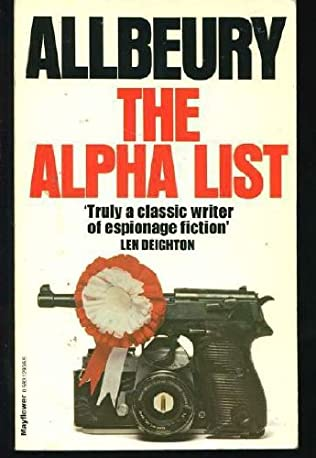 book cover of The Alpha List