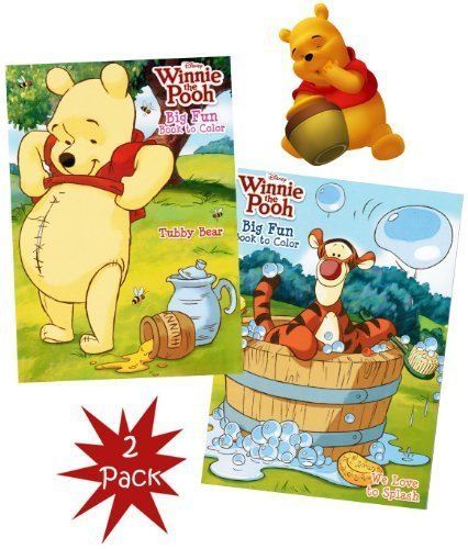 Disney® Winnie the Pooh Big Fun Book to Color (Set of 2) (Baby Winnie The Pooh And Friends Coloring Pages)