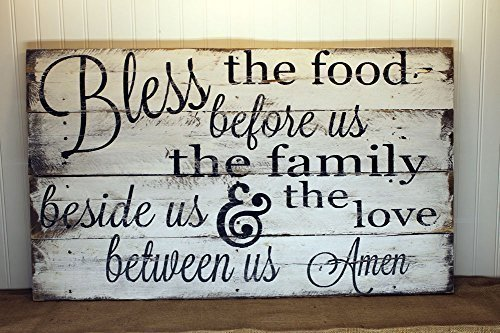 Blessing Quote Reclaimed Wood Pallet Sign Home Decor 24x18