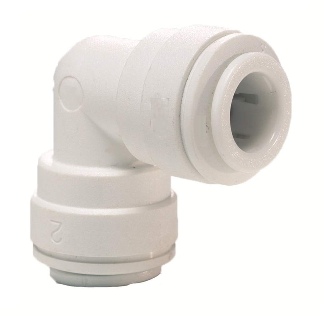 AquaHouse/® 1//4 Elbow Connector for Water Pipe /& Fridge Tubing