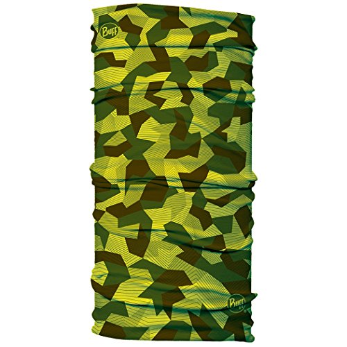 BUFF Unisex Junior Original Multifunctional Headwear, Block Camo, OSFM