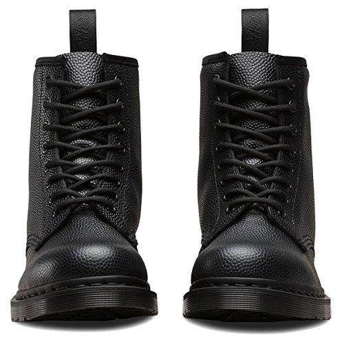 Leather 8 Dr Boots Pebble Womens Eyelet martens Noir 1460 xYnwpfB7q
