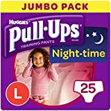 Huggies Pull Ups Night Time Girls Large 25 Pack