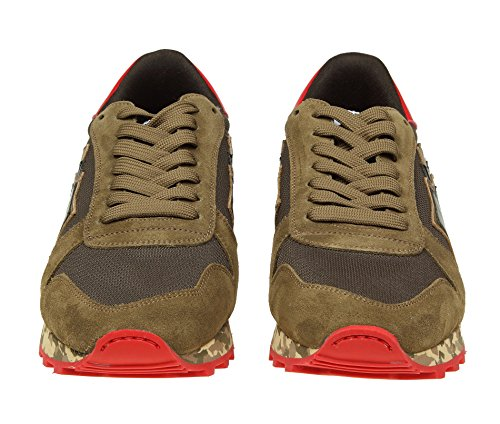 Sneakers Uomo Tessuto Stars Marrone Atlantic ARGOMGNYRMMM nx75z