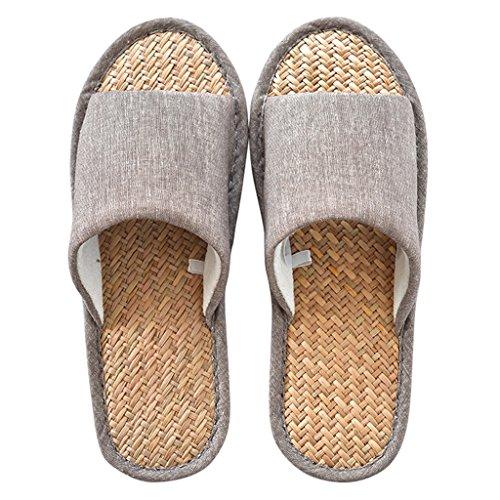 Komfortable Malan Hause DWW Gras Muster Schuhe Sommer Atmungsaktive Rutschfeste 1 Indoor Wasserdichte Herren Hausschuhe pRBfqzB