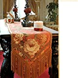 DIDIDD Modern Simple Table-Cloth Table Cloth,B,30x200cm(12x79inch)