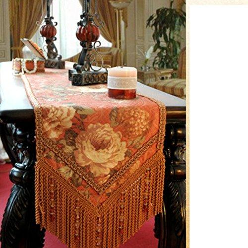 DIDIDD Modern Simple Table-Cloth Table Cloth,B,30x200cm(12x79inch) by DIDIDD
