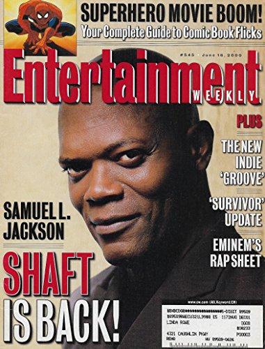 (Entertainment Weekly Magazine - June 16, 2000 - Samuel L. Jackson (Shaft) - Spider-Man)