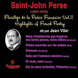 Saint-John Perse (Florilège de la Poésie Française 11)