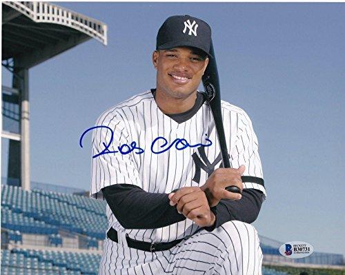 Robinson Cano Autographed Photo - BECKETT 8x10 - Beckett Authentication - Autographed MLB Photos