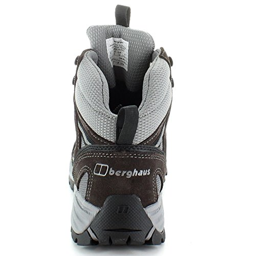 Berghaus Womens Expeditor AQ Trek Waterproof Suede Walking Boots Grey Dark Gull Grey
