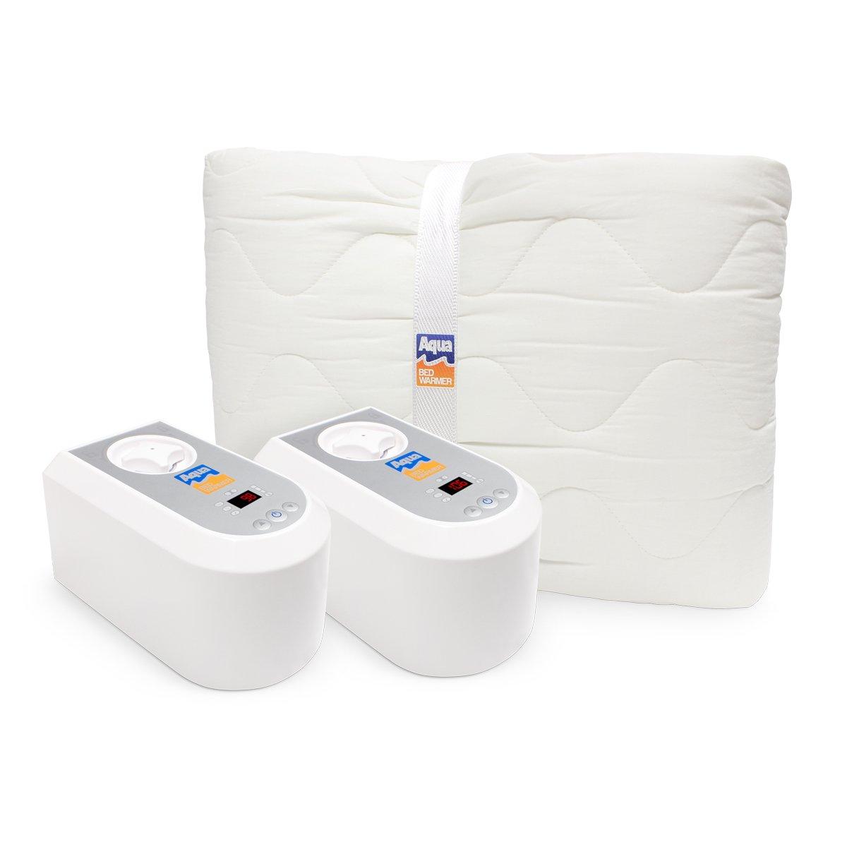 Aqua Bed Warmer Non-electric Heater Blanket (King Dual-Zone)