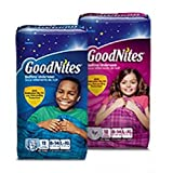 Health & Personal Care : Goodnites Underwear - Girl - Large/X-Large - 20 ct