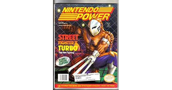 Nintendo Power Magazine - Street Fighter II Turbo: Amazon.es: Videojuegos
