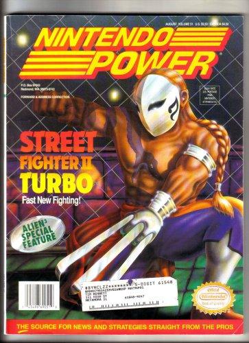Nintendo Power Magazine - Street Fighter II Turbo - Game Boy Star Trek