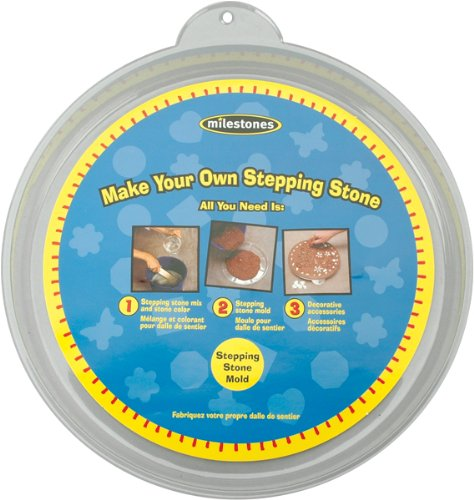 Midwest Products Large Round Stepping Stone Mold, 12-Inch