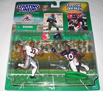 1999 Terrell Davis College-Pro Classic Double NFL Starting Lineup