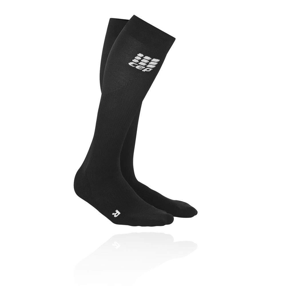 Black Black CEP Women's Progressive+ Compression Run Socks 2.0