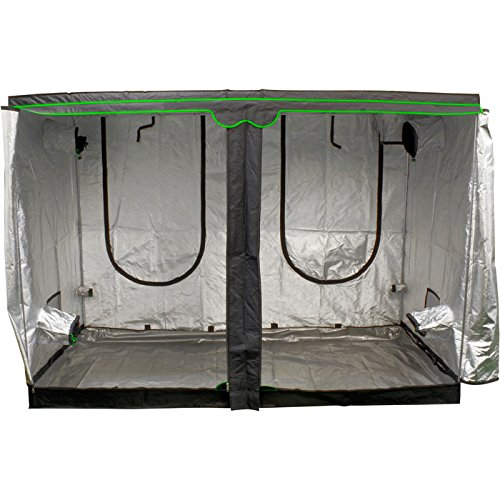 - Sunlight Supply Sun Hut Big Easy 285 Grow Tent - 9.4ft. x 4.7ft. x 6.5ft.
