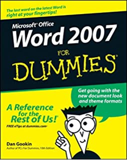 Office 2007 all in one desk reference for dummies peter weverka word 2007 for dummies fandeluxe Image collections