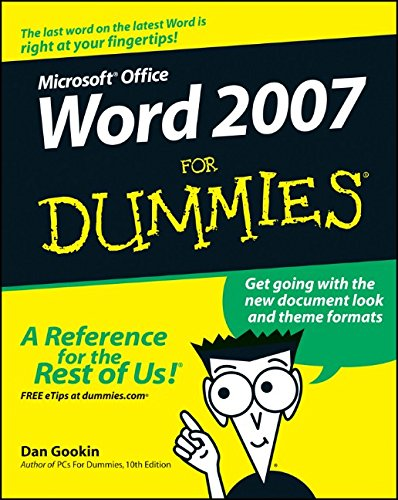 Word 2007 For Dummies (Buy Word Microsoft 2007)