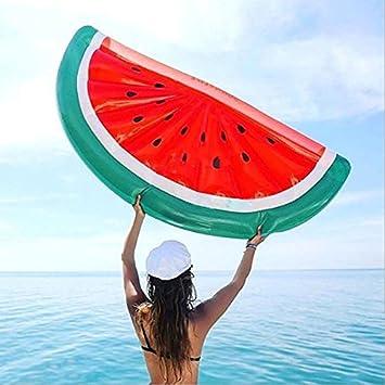 JYSPORT Flotador para Piscina de Unicornio Balsa Inflable, Cama Flotante, Juguetes Hinchables Para Adultos Y Niños (watermelon): Amazon.es: Deportes y aire ...