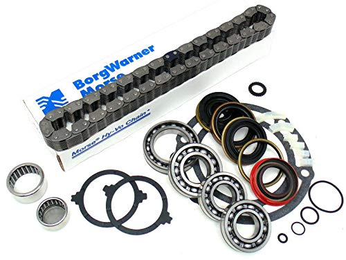 (Jeep 231 NP231J Transfer Case Rebuild Kit with Bearings & Chain)