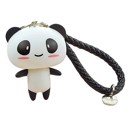 Sweet Home - Llavero , Panda & Black strap: Amazon.es: Equipaje