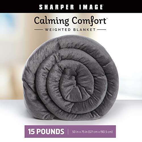 Allstar Innovations Calming Comfort Grey Weighted Blanket - 15 (All Star Blanket)
