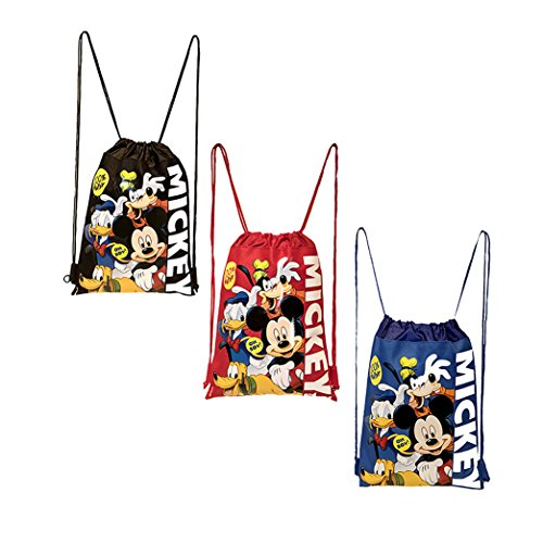 Disney Mickey Mouse and Friends Drawstring Backpacks 3 -