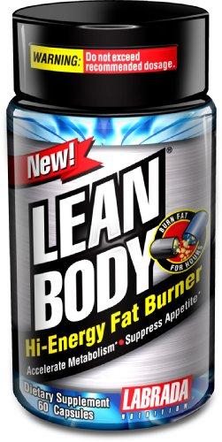 LABRADA NUTRITION Brûleur Lean Body Fat, 60 comte