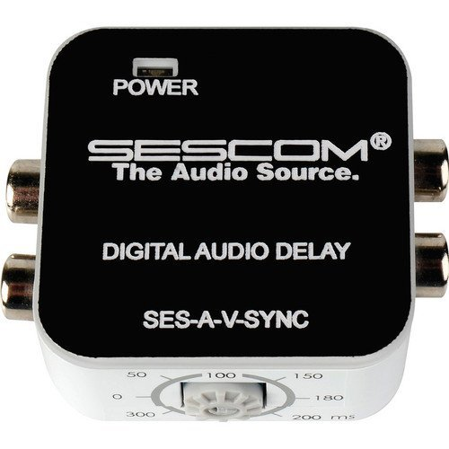 Delay Box (Sescom SES-A-V-SYNC A/V Lip-Sync Corrector-by-Sescom)