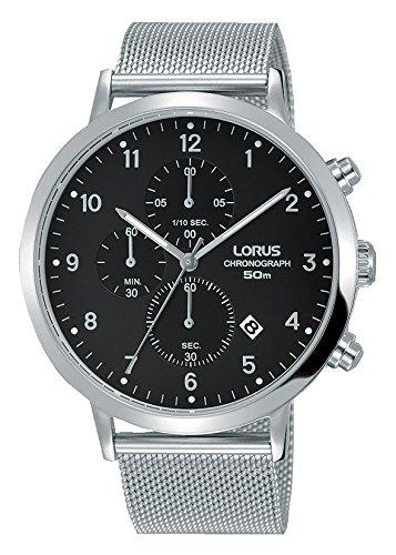 Lorus Reloj Cronógrafo para Hombre de Cuarzo con Correa en Acero Inoxidable RM311EX9