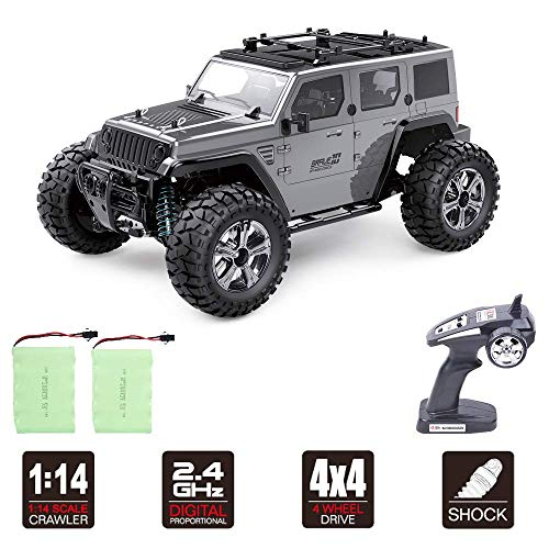 Rc Cars Off Road 4wd – Roterdon Rc Toys Remote Control Car Cross-Country Monster Truck Crawler 4WD High Speed 2.4GHz Racing Vehicle Radio Control Trucks for Boys & Adult