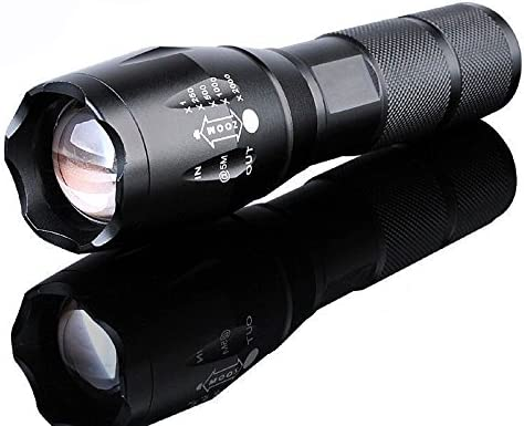 100000Lumens Tactical T6 LED Bright Police Rechargeable Flashlight Torch Lamp#