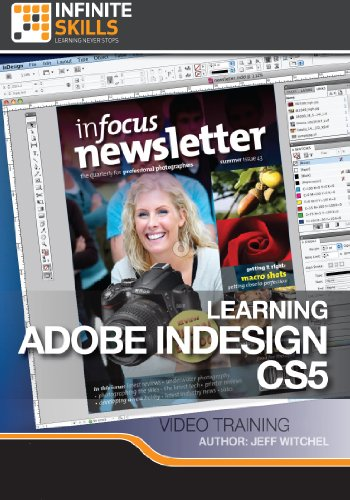 Adobe InDesign CS5 Training Course [Download] by Infiniteskills