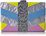MILLY Geo Square Box Clutch, Multi